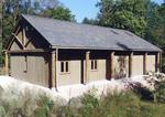 Site Managers' Base in Roudsea Wood, for Natural England