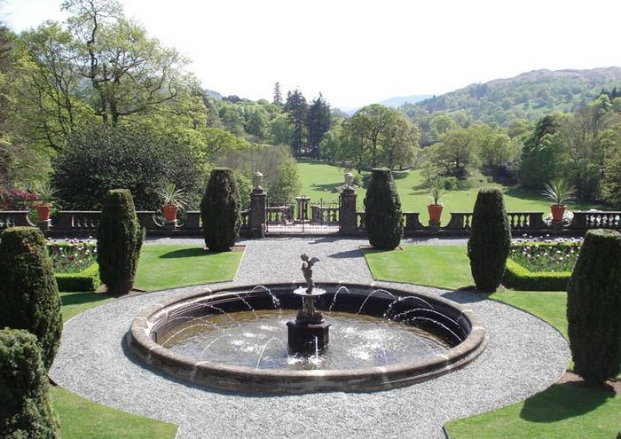 The restoration of Rydal Hall Gardens