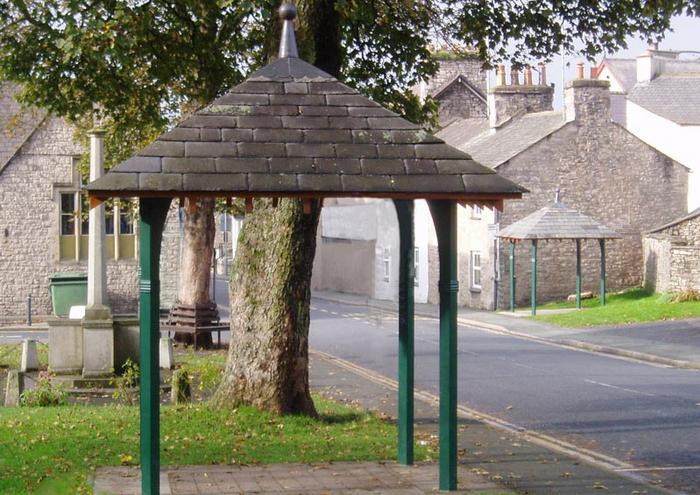 The Bus Shelters in Milnthorpe